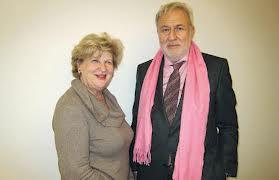 Dr. Andre Bollag & Shella Kertesz - die Präsidenten der ICZ