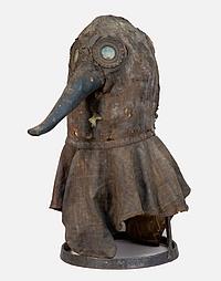 Dtsch. Medizinhistorisches Museum - Pestmaske