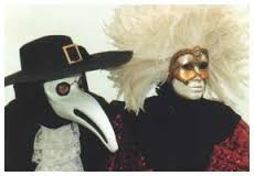 Pestarzt - eine der Maskenklassiker beim Karneval in Venedig