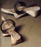 Einfache Holztrippen
