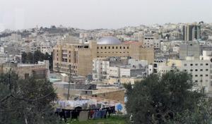Blick auf das moderne Hebron