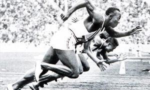 Der vierfache Olympiasieger Jessse Owens