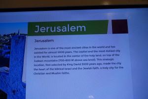 Ausgewählte Städte in Palästina