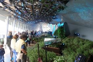 Der Kräutergarten im Iran Pavillon