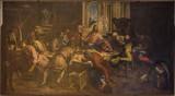 Das letzte Abendmal, ausgestellt im Original