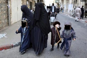 Taliban Frau mit Kindern