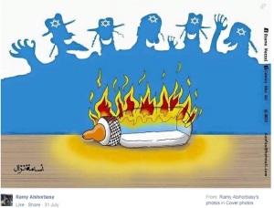 Haredis feiern den Tod von Babies in Gaza