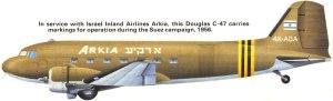 DC 3 Transportmaschine