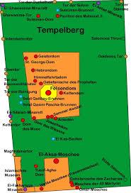 Die Zugangstore zum Tempelberg