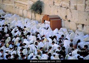 Priestersegen an der Kotel zu Sukkot