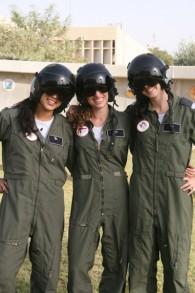 Kampfpilotinnen am Ende ihrer Ausbildung
