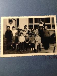 Unsere Kindergartengruppe Ostern 1961
