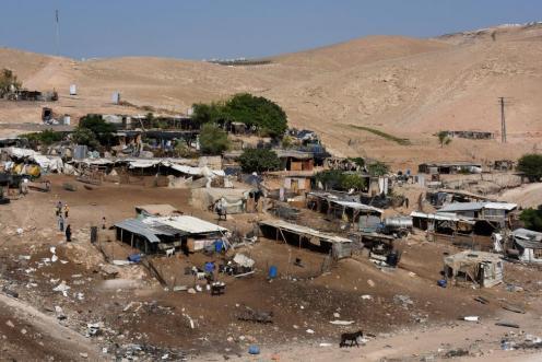 Israel-delivers-evacuation-orders-to-Khan-al-Ahmar-residents