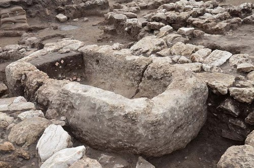 A-stone-basin-apparently-used-in-religious-rituals.