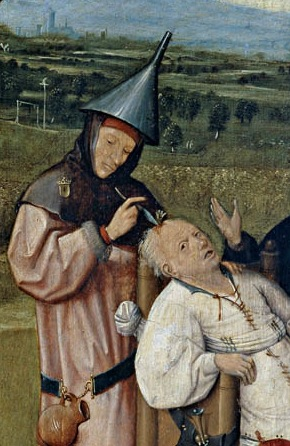Hieronymus_Bosch-Removing_the_Rocks_from_the_Head-Detail